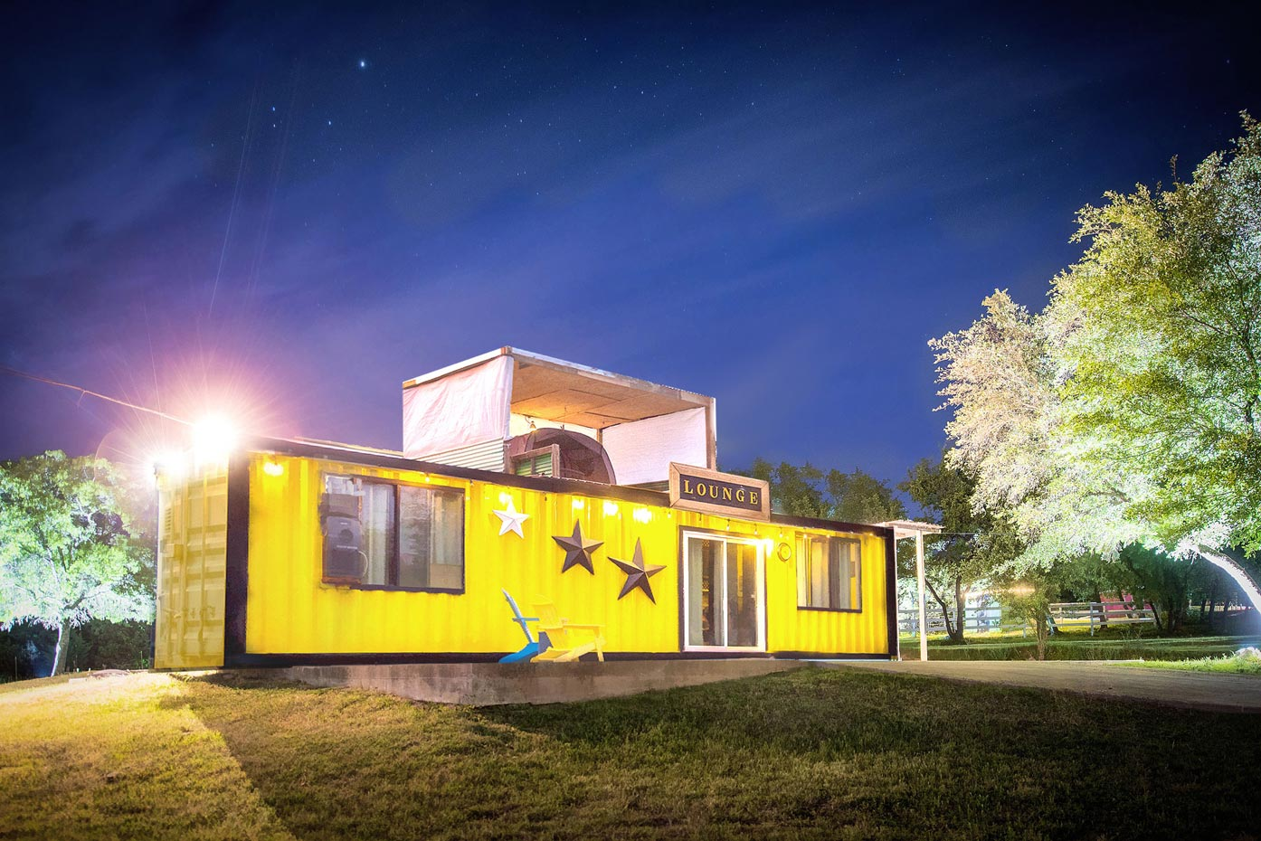 TheContainer Home at Old Stick Ranch